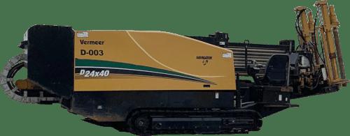 Vermeer Horizontal Directional Drill machine